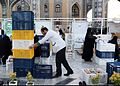 Iftar Serving for fasting people in the holy shrine of Imam Reza 15 ().jpg