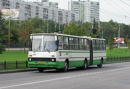 Ikarus 280.33M bus in Moscow