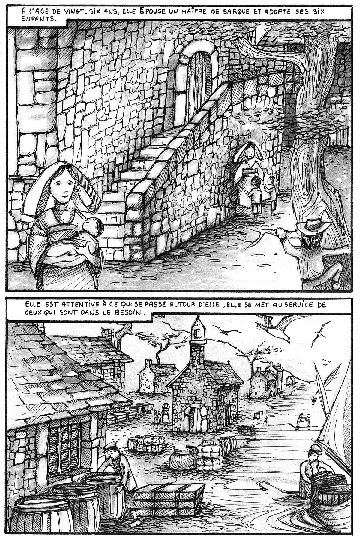 File Illustration Bd 1996 Les Filles Du Saint Esprit Version Noir