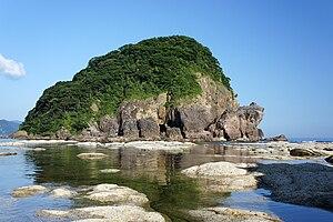 Sanin Kaigan National Park - Imagoura of Kasumi Coast in Kami, Hyogo prefecture, Japan.