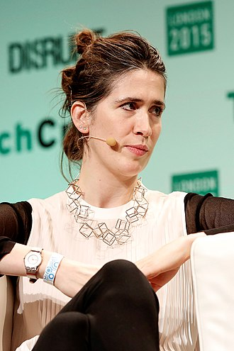 Imogen Heap - Heap in TechCrunch Disrupt in London, December 2015