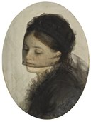 In Mourning (Anders Zorn) - Nationalmuseum - 24325.tif
