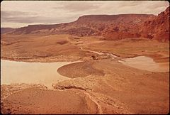In October, 1972, a Pipeline of the Texas - New Mexico Pipeline Company Burst, Releasing 285,000 Gallons of Crude Oil Into the San Juan River, 10-1972 (3814969216).jpg