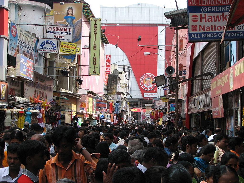 Ranganathan Street Chennai