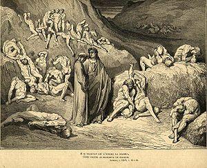 Dante divina commedia purgatorio canto 30