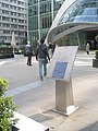 Information board outside City Point - geograph.org.uk - 1831110.jpg