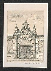 Ingang van de St. Michielsabdij