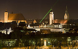 Ingolstadt by night