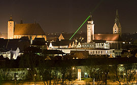 Ingolstadt v noci