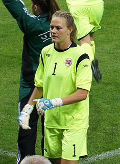 Ingrid Hjelmseth Norwegian association football player