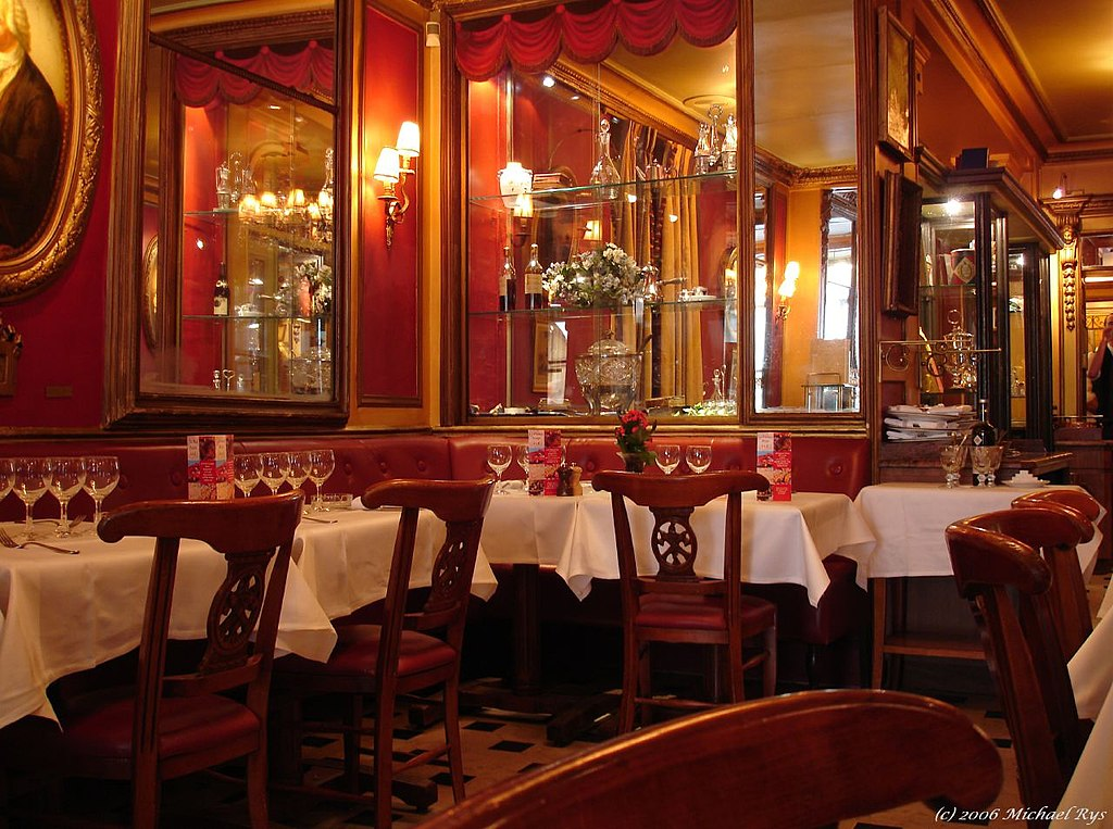Le Piaf Restaurant Paris Carte