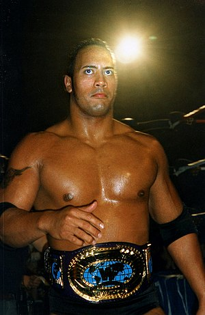 Dwayne Johnson - As part of the Nation of Domination, The Rock won the Intercontinental Championship for a second time and held it for 265 days