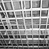 interieur, begane grond, linker voorkamer, plafond, beschilderde moerbalken - 20000802 - rce