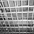 Interieur, begane grond, linker voorkamer, plafond, beschilderde moerbalken - 20000802 - RCE.jpg