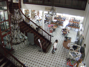 Interior View 2 of Bernheim Library, Noumea