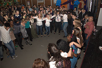 University of Pécs - Photograph from the 2011 International Evening at the University of Pécs