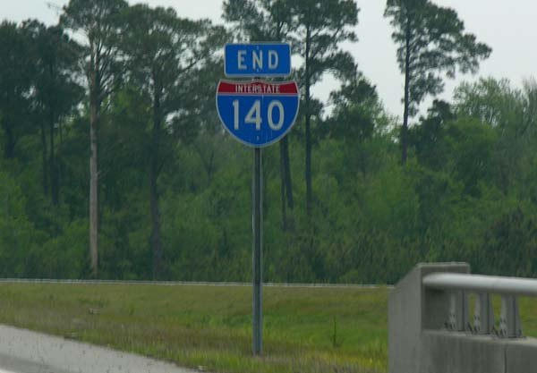Interstate 140 north carolina howling pixel interstate shield on a cloudy day sciox Gallery