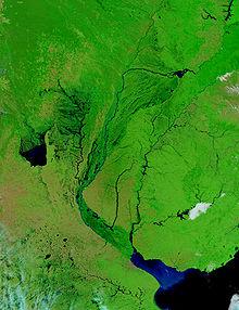 Van die río paraná , die río paraguay en die río uruguay