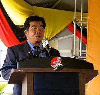 Sarawak State Museum - Ipoi Datan, the current director of Sarawak State Museum.