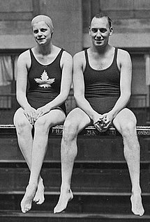 Irene Pirie Canadian swimmer