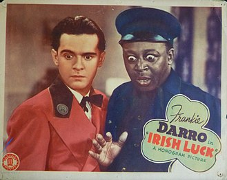 Irish Luck (1939 film) - Lobby card