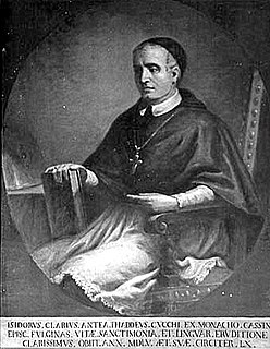 Isidoro Chiari Cassnese monk, abbot, bishop, and father of the Council of Trent