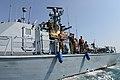 Israel Navy Strike Gaza from the Sea-july22-2014.jpg
