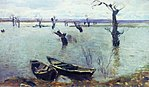 Issac Levitan, 1887 - High waters.jpg
