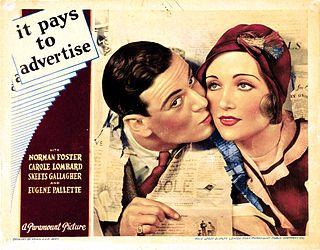 <i>It Pays to Advertise</i> (1931 film) 1931 film