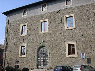 Formello - Façade of Palazzo Chigi.