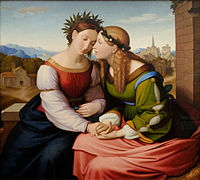 Italia and Germania Friedrich Overbeck 1828.jpg