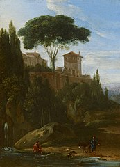 Italianate Landscape with Buildings