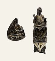 Italy Christ Blessing and Our Lady of Sorrows.jpg