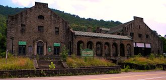 National Register of Historic Places listings in Wyoming County, West Virginia - Image: Itmann West Virginia Company Store