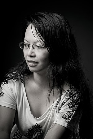 English: Picture of poet Ivy Alvarez (born in ...