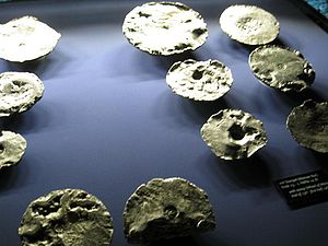 Erfurt Treasure - Some of the ingots