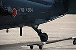 JASDF UH-60J(78-4604) tailwheel left front view at Komatsu Air Base September 17, 2018.jpg