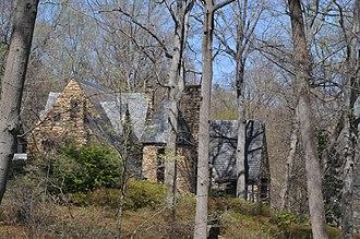 Joseph Franklin Bland House - The house in September 2007
