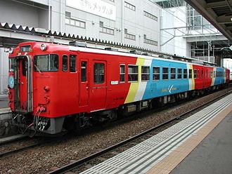 Hachinohe Line - Umineko local train at Hachinohe Station