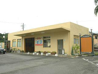 Nangō Station Railway station in Nichinan, Miyazaki Prefecture, Japan