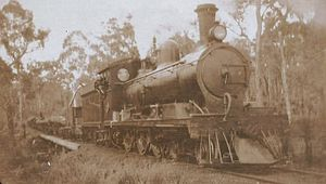 WAGR J class - J class at Wuraming ca. 1920s