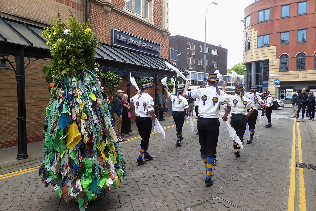 Jack in the Green with Hammersmith Morris Men on May Day 2019