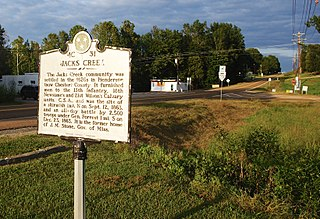 Jacks Creek, Tennessee Unincorporated community in Tennessee, United States