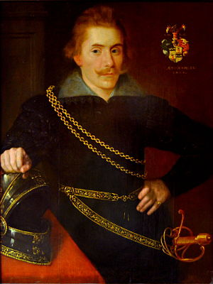 Lord High Constable of Sweden - Jacob De la Gardie - Lord High Constable 1620-1652.