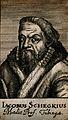 Jacob Scheckius, wearing a fur collar. Line engraving, 1688. Wellcome V0005272.jpg