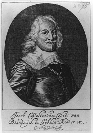 Jacob Westerbaen - Jacob Wetserbaen in 1650.