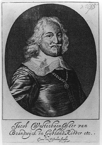 Jacob Westerbaen - Jacob Wetserbaen in 1650.