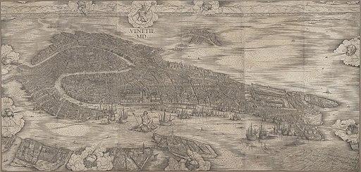 Jacopo de' Barbari - View of Venice - Google Art Project