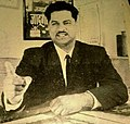 Jadugar Raghuvir in his office.jpg