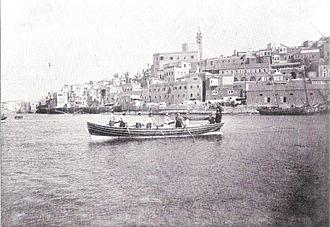 Jaffa Port - Jaffa Port before 1899.